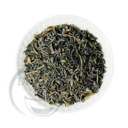 Zelený sypaný čaj z vesnice...